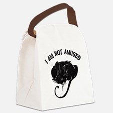 NotAmused Canvas Lunch Bag