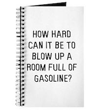 A room full of gasoline Journal