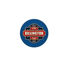 Killington Old Label Mini Button