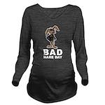 Bad Hare Day Long Sleeve Maternity T-Shirt
