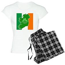 irish_flag_flame_shamrock01 Pajamas