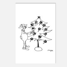 Bee Keeper Bee Ornaments Postcards (Package of 8)