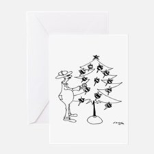 Bee Keeper Bee Ornaments Greeting Card