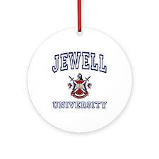 JEWELL University Ornament (Round)