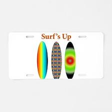 surfsup.png Aluminum License Plate