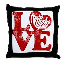 Twilight love Throw Pillow