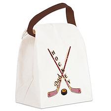 hockey_dad_2 Canvas Lunch Bag