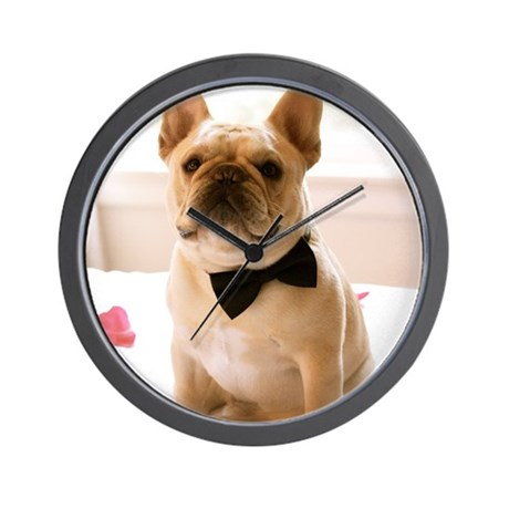 Dressed to the Nines Wall Clock