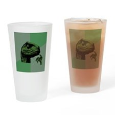 philosoraptor Drinking Glass