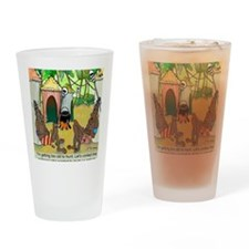 2-7713_anthropology_cartoon Drinking Glass
