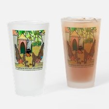 2-7713_anthropology_cartoon Drinking Glass