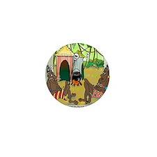 2-7713_anthropology_cartoon Mini Button