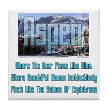 Aspen Tile Coaster