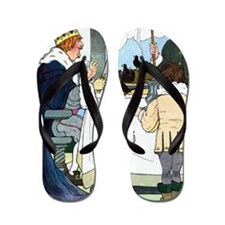 REAL MOTHER GOOSE 1916 BLANCHE FISHER W Flip Flops