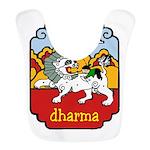 Snow Lion + Dharma Bib