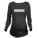Namaste Long Sleeve Maternity T-Shirt