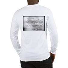 Phantom Note to Carlotta Long Sleeve T-Shirt