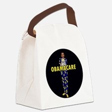 OBAMACARE_$$$_ROUND-3 Canvas Lunch Bag