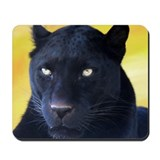Black panther Mouse Pads