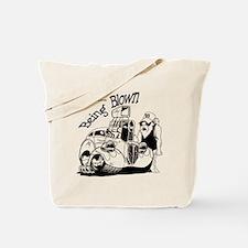 being blown Tote Bag