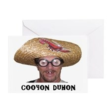 cooyon duhon t-shirt mug #2 Greeting Card