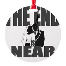END IS NEAR png Ornament