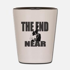 END IS NEAR png Shot Glass