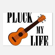 Pluck My Life (Uke) Postcards (Package of 8)