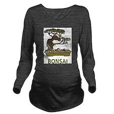 Bonsai Long Sleeve Maternity T-Shirt