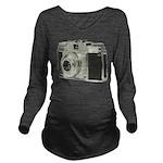 Vintage Camera Long Sleeve Maternity T-Shirt