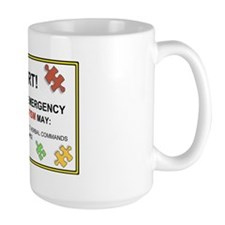 autism warning for car Mug
