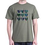 9 Dark Hearts Dark T-Shirt