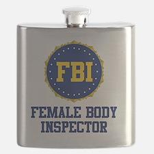 FBI Female Body Inspector Flask