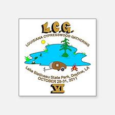 """LCG610 Square Sticker 3"""" x 3"""""""