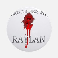 Raylan Round Ornament