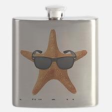 PCStarfishBIGBlack Flask