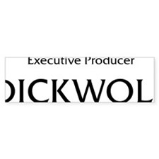 DICKWOLF Black Bumper Sticker