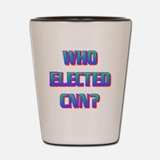 WHO ELECTED CNN(white).gif Shot Glass
