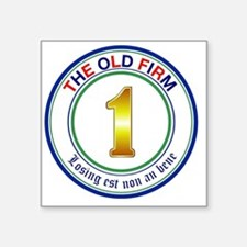 """the-old-firm Square Sticker 3"""" x 3"""""""