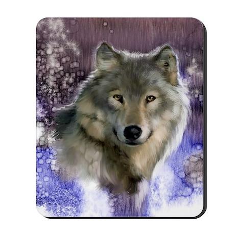 wolf 12x9 Mousepad