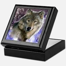 wolf 12x9 Keepsake Box