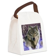 wolf 12x9 Canvas Lunch Bag