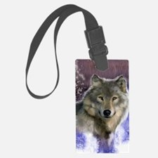 wolf 12x9 Luggage Tag