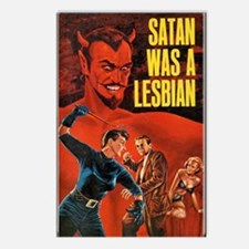 SATAN WAS A LESBIAN Postcards (Package of 8)
