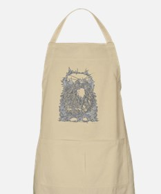 Creepycat Grey Apron