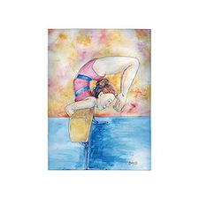 gymnastic champion 5'x7'Area Rug