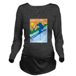 Having A Great Time Long Sleeve Maternity T-Shirt
