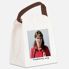 sarah2 Canvas Lunch Bag