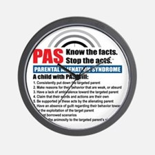 PAS-know facts Wall Clock