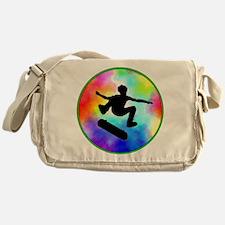 skater tie-dye.png Messenger Bag
